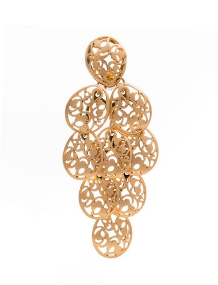 Pomellato pink gold earrings