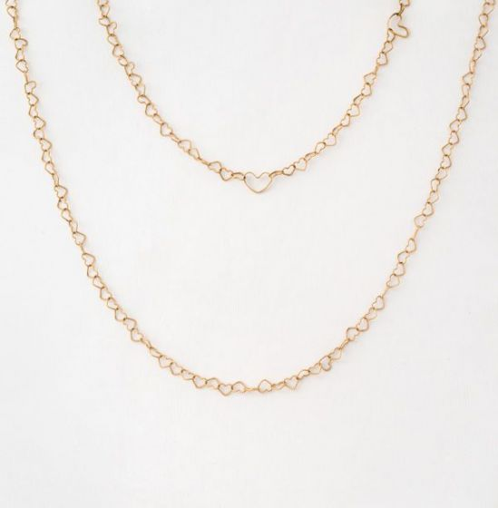Nanis yellow gold necklace
