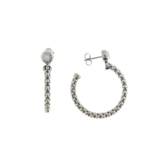 Chimento 18K Earrings in white gold with diamonds