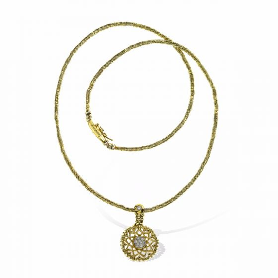 Anna Avakian yellow gold pendant