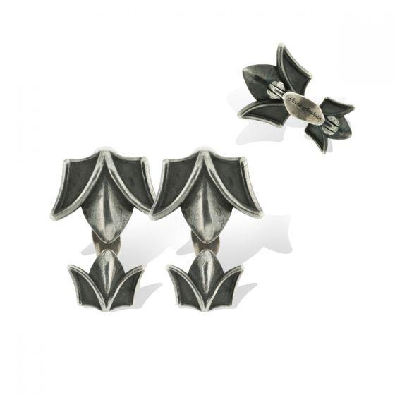 Anna Avakian silver cufflinks