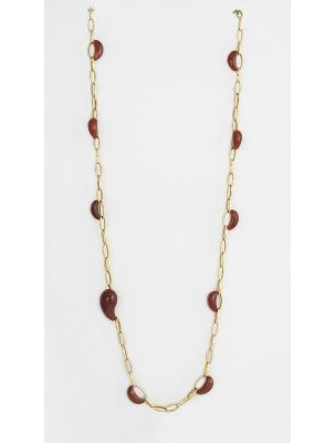 Chimento necklace with corneolide