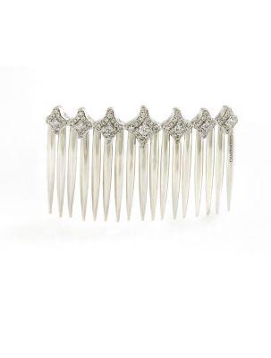 Chimento white gold tiara with diamonds