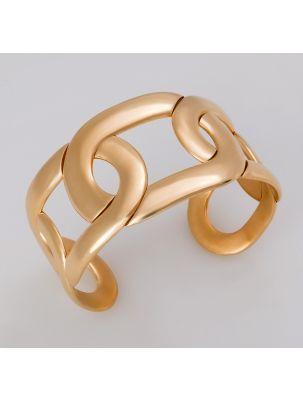 Pomellato pink gold bangle