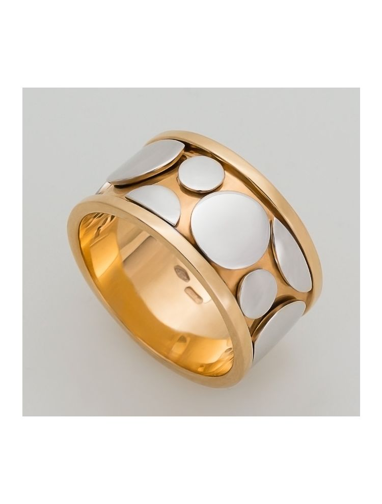 Talento Italiano yellow and white gold ring