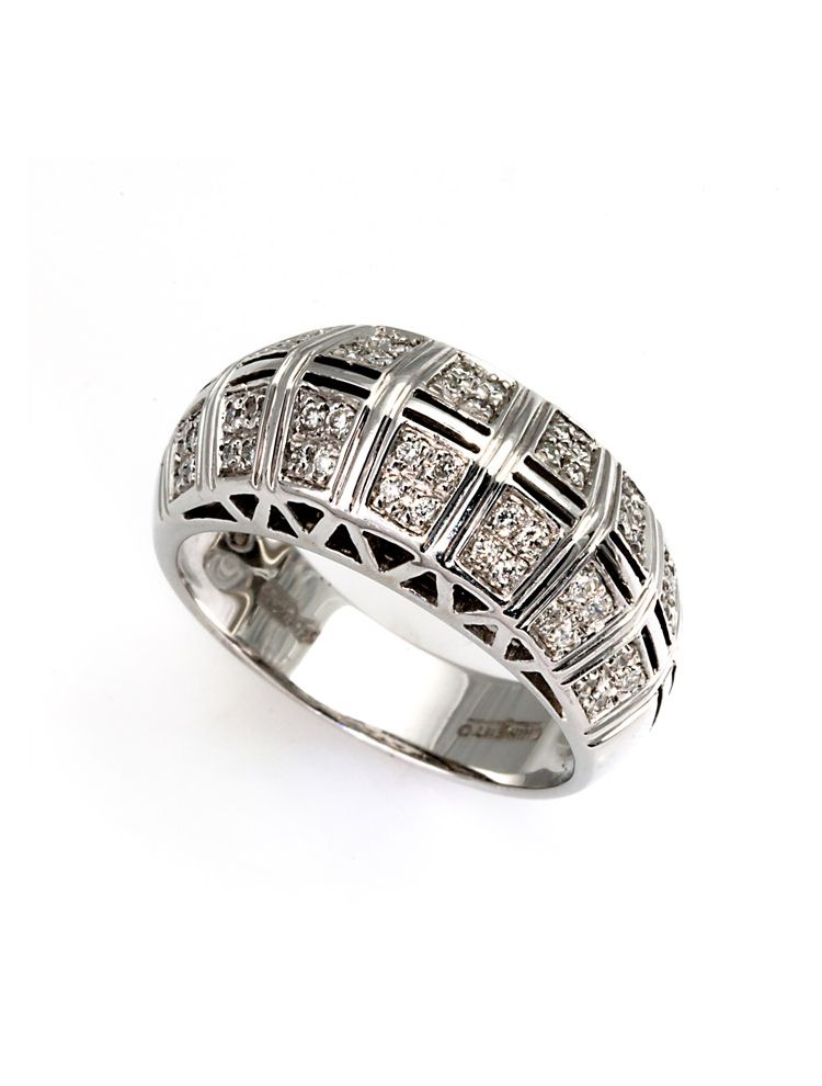 Chimento white gold ring