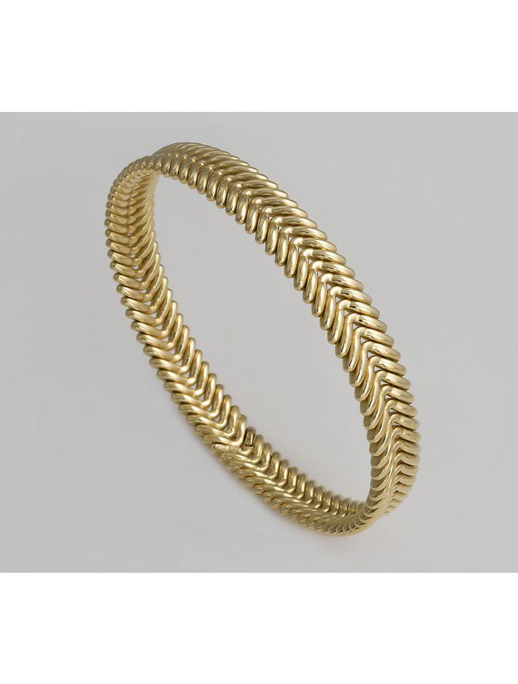 Chimento yellow gold bangle