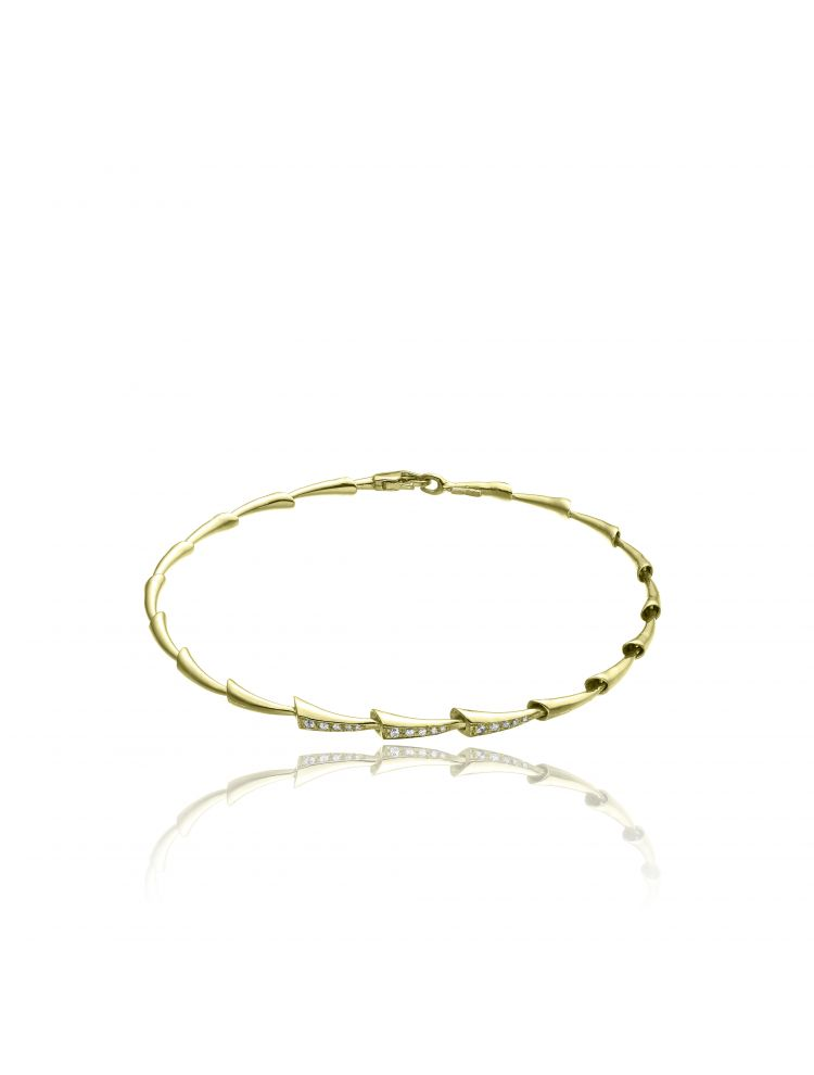 Chimento 18K Bracelet in yellow gold with diamonds