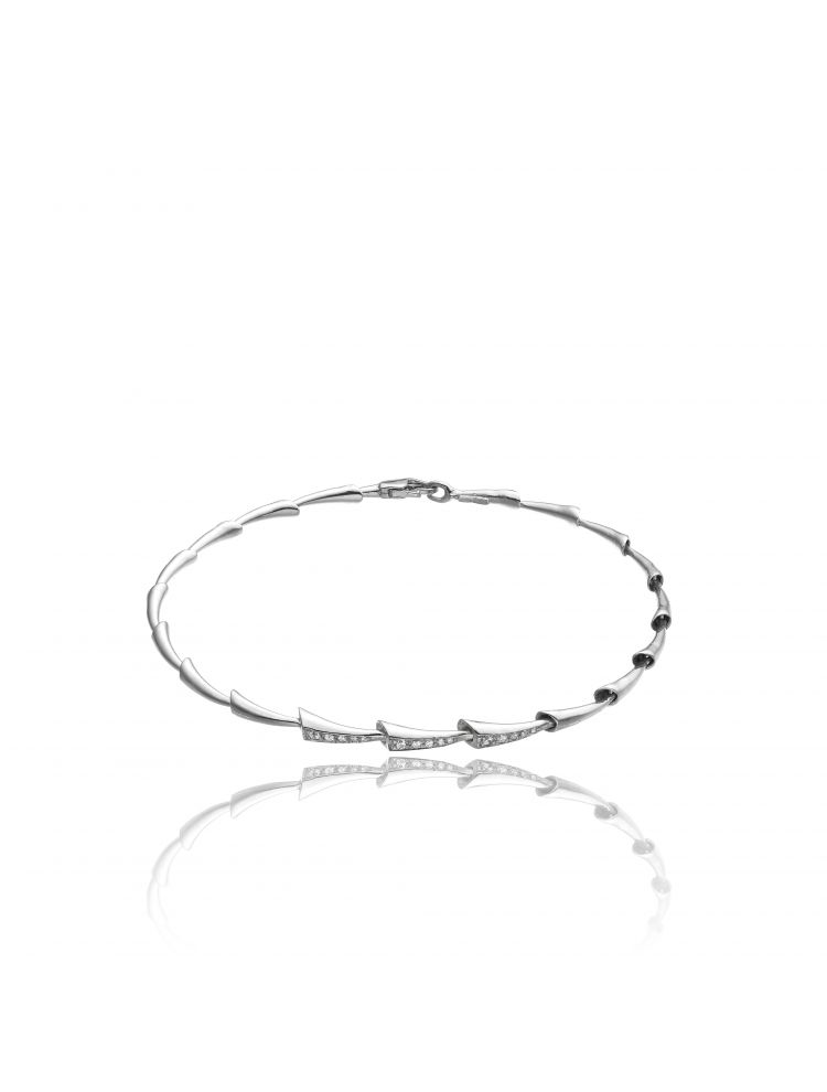 Chimento 18K Bracelet in white gold with diamonds