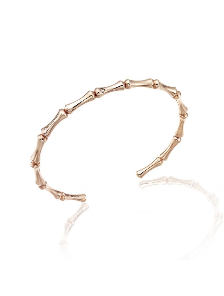Chimento 18K Bracelet in pink gold with diamonds