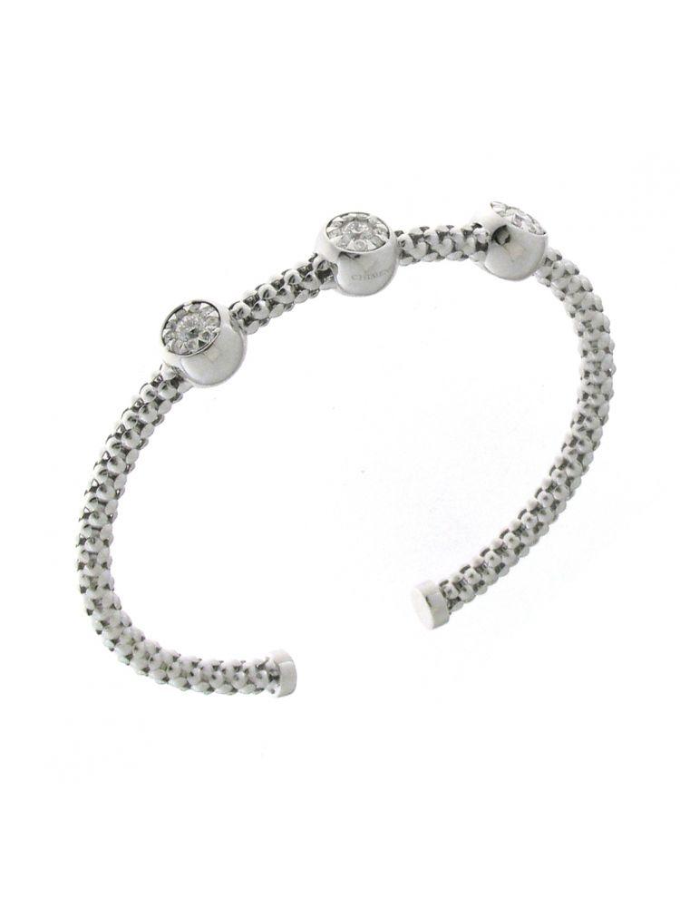 Chimento 18K Bracelet in white gold with diamonds