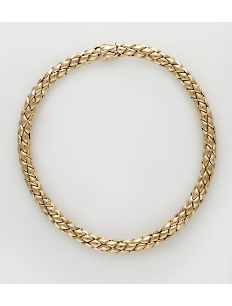 Chimento pink gold necklace