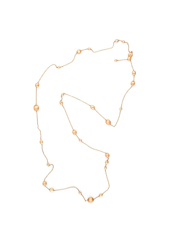 Chimento pink gold necklace with diamond