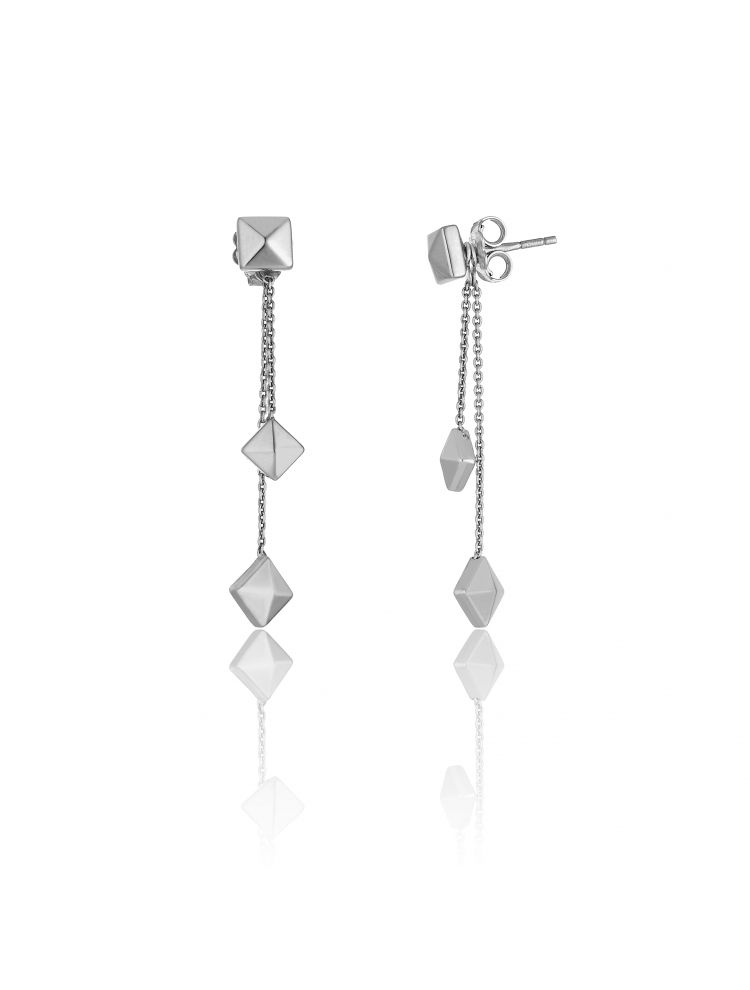 Chimento 18K Earrings in white gold