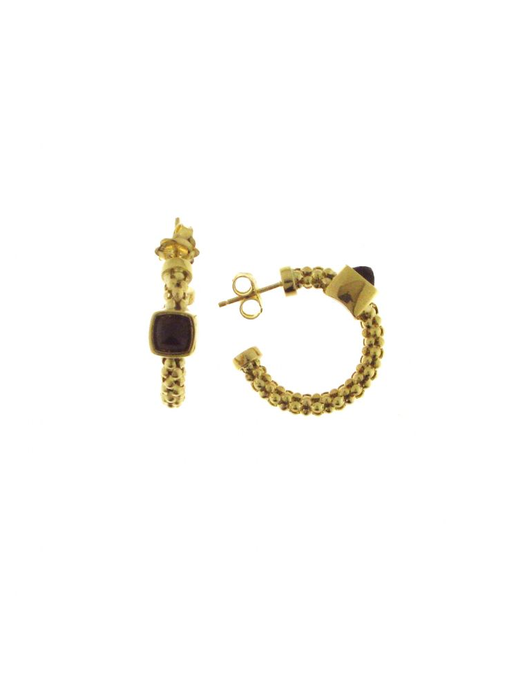 Chimento 18K Earrings in yellow gold with quartz