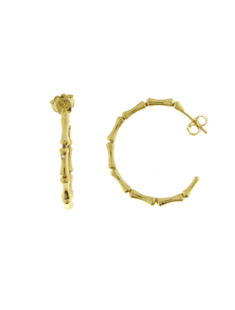Chimento 18K Earrings in yellow gold with diamonds