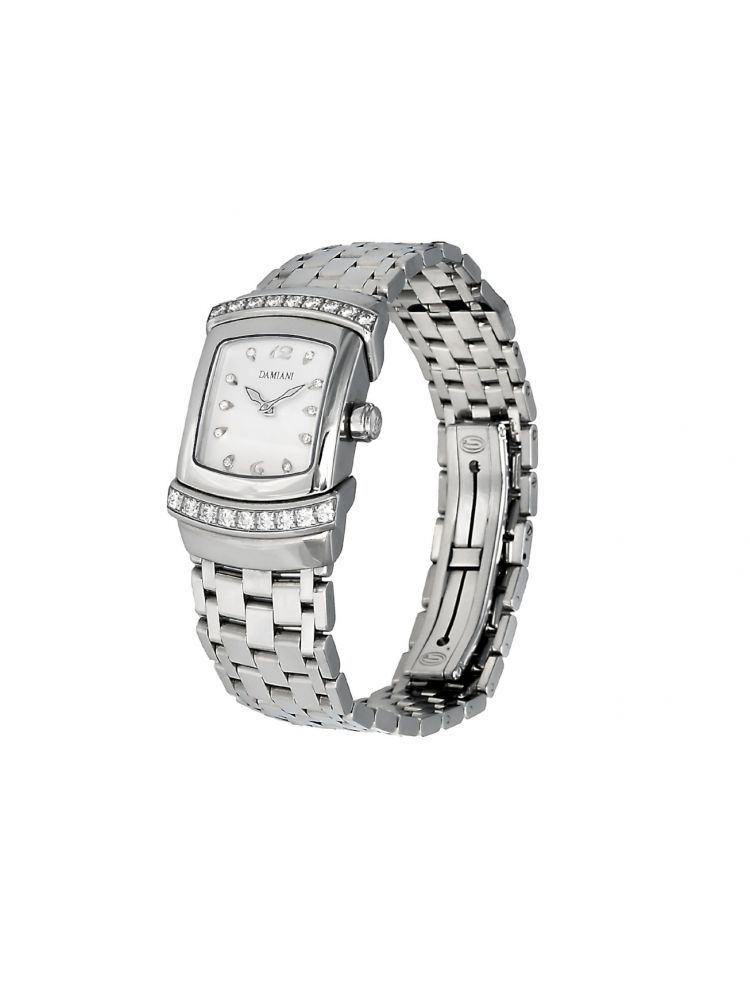 Damiani luxury watch with white diamonds Ego