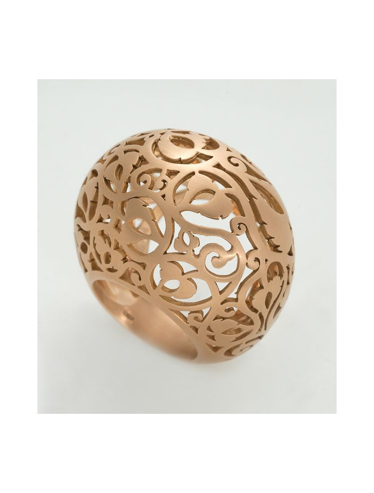 Pomellato pink gold ring Arabesque collection