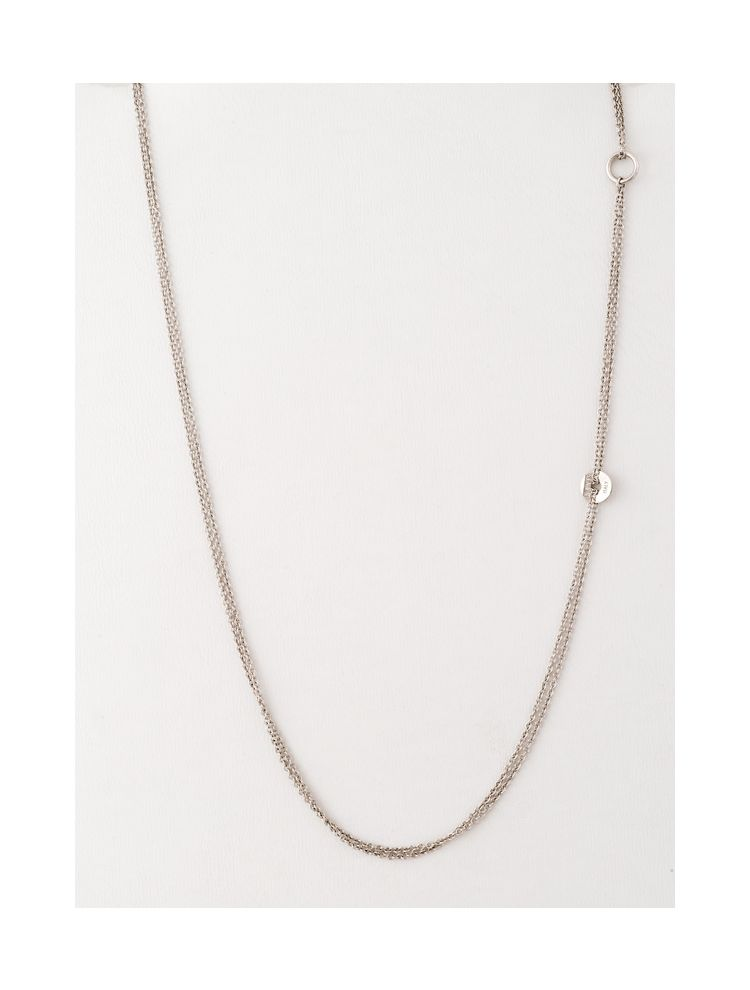 Nanis white gold necklace