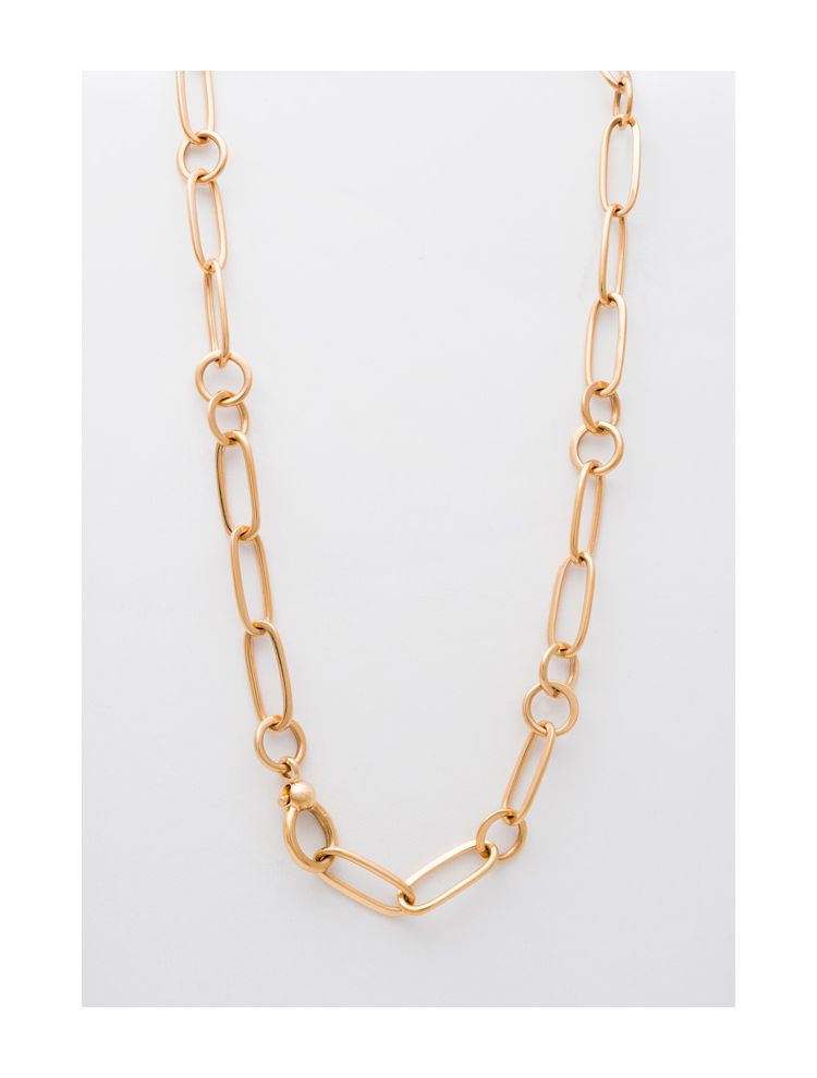 Pomellato yellow gold necklace