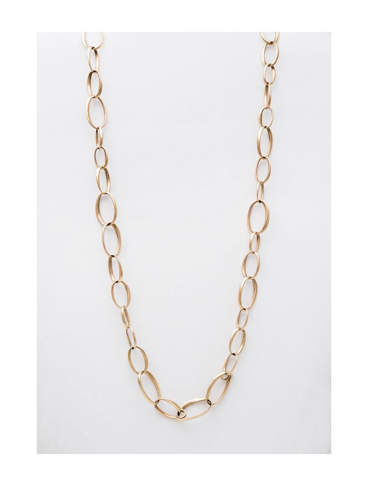 Pomellato yellow gold necklace