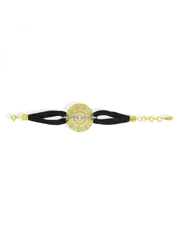 Anna Avakian yellow gold bracelet