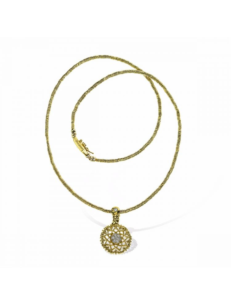Anna Avakian yellow gold pendant