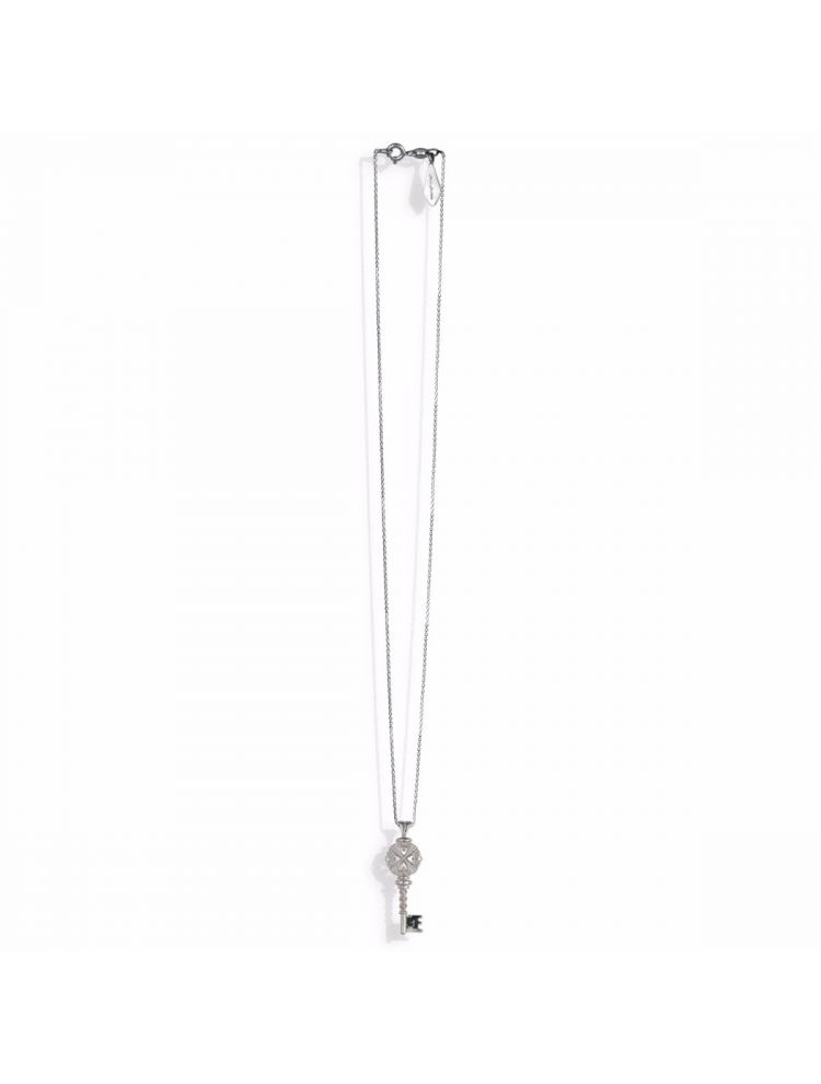 Anna Avakian silver pendant key and chain