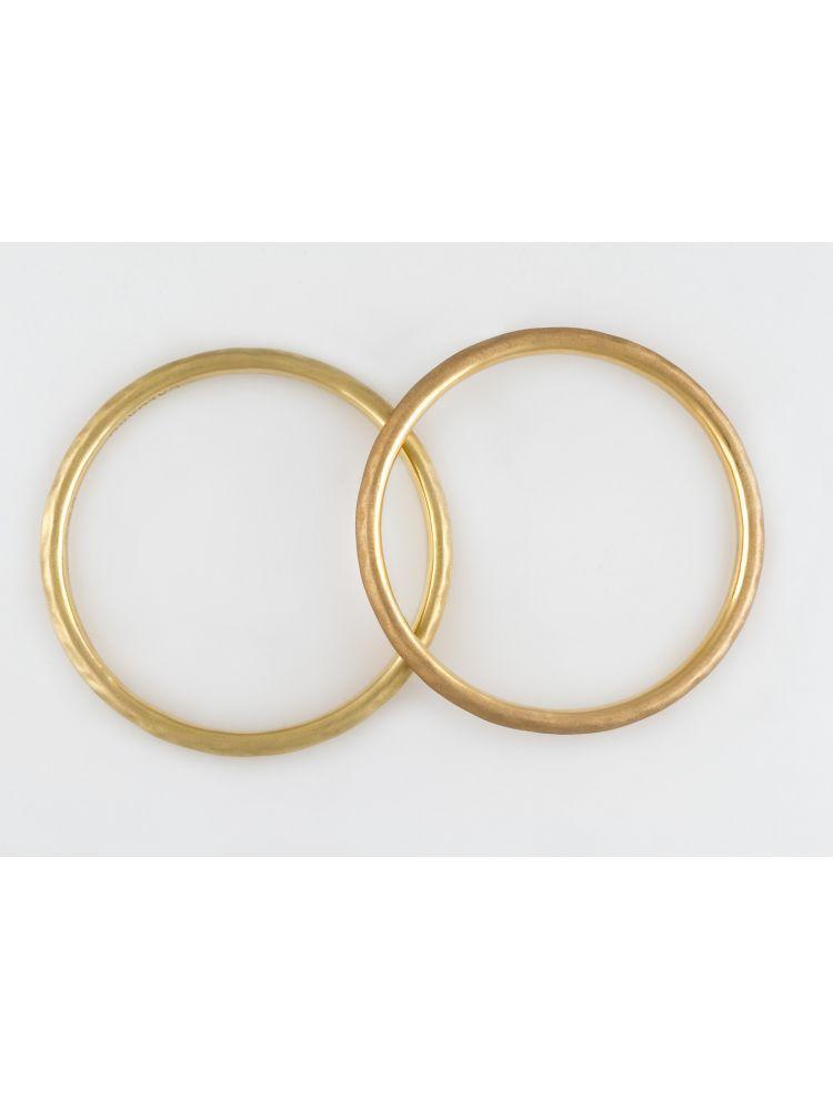 Calgaro pink gold bangle